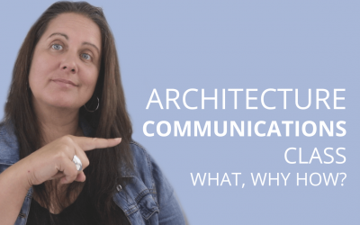 What To Expect In An Architecture Communications Class And Why