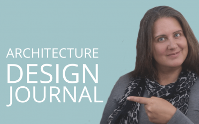 Architecture Design Journal, Sketchbook Or Visual Diary